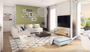 Reims programme immobilier neuve « Jardin Ponsardin » en Loi Pinel  (3)