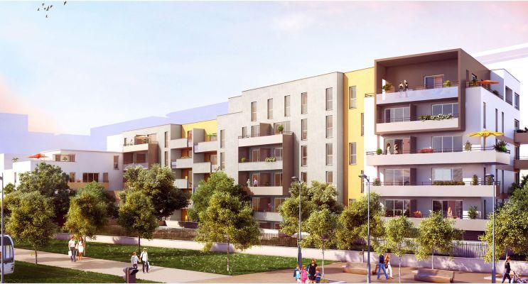 Résidence « La Corderie » programme immobilier neuf en Loi Pinel à Reims n°1