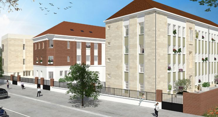 Photo du Résidence « Le Sept » programme immobilier à rénover en Loi Pinel ancien à Reims