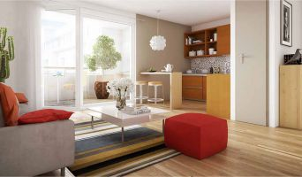 Photo du Résidence « Les Terrasses de Reims » programme immobilier neuf en Loi Pinel à Reims