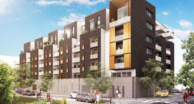 Résidence « Luminance » programme immobilier neuf en Loi Pinel à Reims n°1