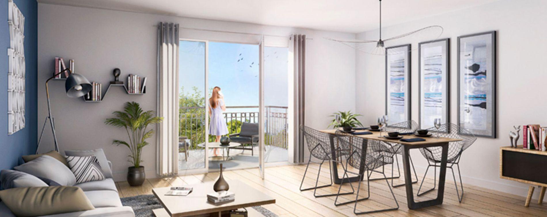 Reims : programme immobilier neuve « Nature & Sens » (2)