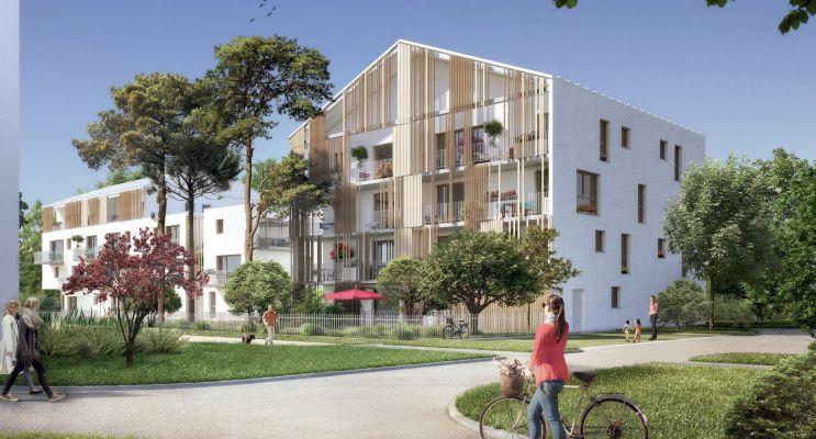 Photo du Résidence « Nature & Sens » programme immobilier neuf à Reims