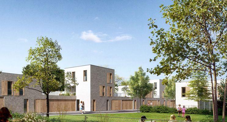 Résidence « Plein R » programme immobilier neuf en Loi Pinel à Reims n°3