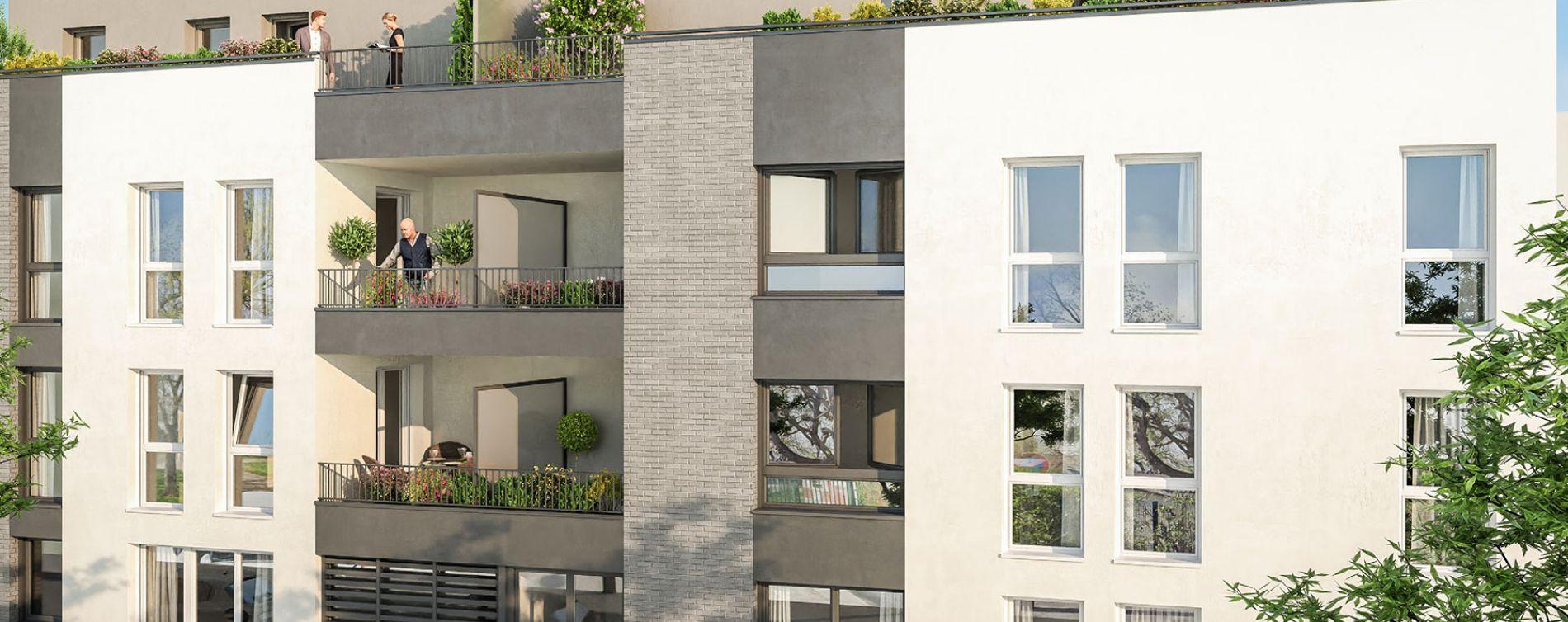 Reims : programme immobilier neuve « Porte de Paris » en Loi Pinel