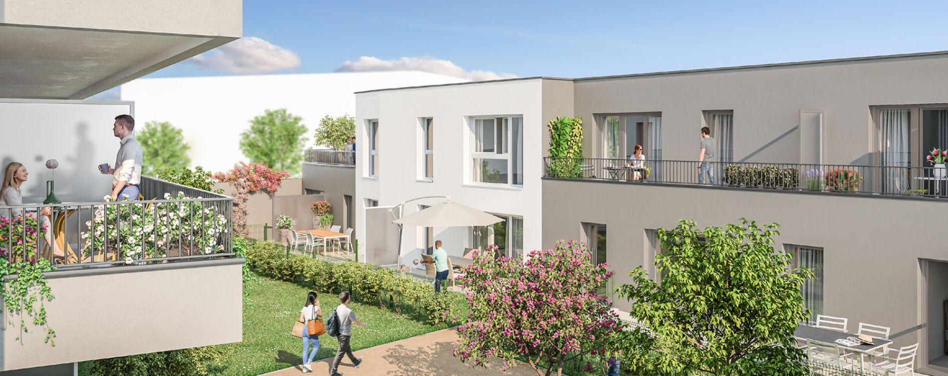 Reims : programme immobilier neuve « Porte de Paris » en Loi Pinel (2)