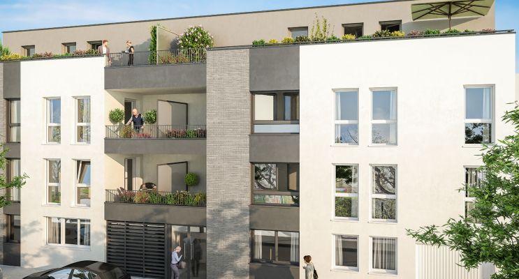 Photo du Résidence « Porte de Paris » programme immobilier neuf en Loi Pinel à Reims
