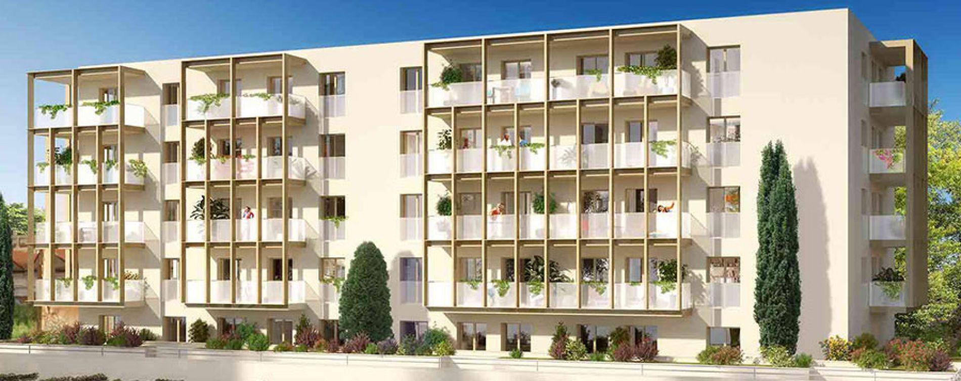 Reims : programme immobilier neuve « Rivage »