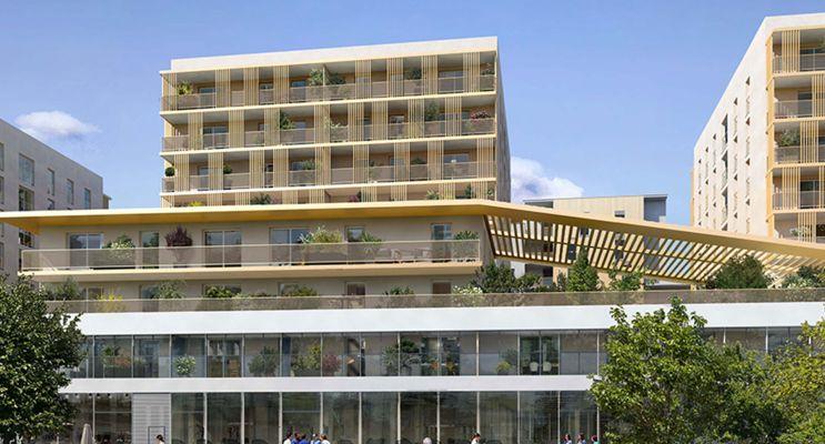 Reims : programme immobilier neuf « Rives de Vesle 2 » en Loi Pinel