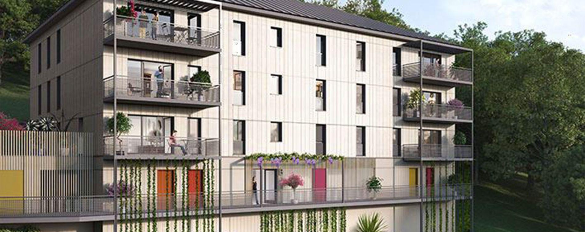 Herserange : programme immobilier neuve « La Canopée »