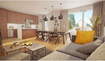 Photo n°2 du Résidence « Les Domaines De L'Alérion - Bât. A » programme immobilier neuf en Loi Pinel à Maxéville