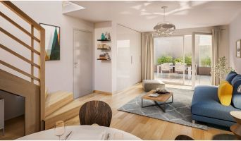 Résidence « Attrakt » programme immobilier neuf en Loi Pinel à Nancy n°4