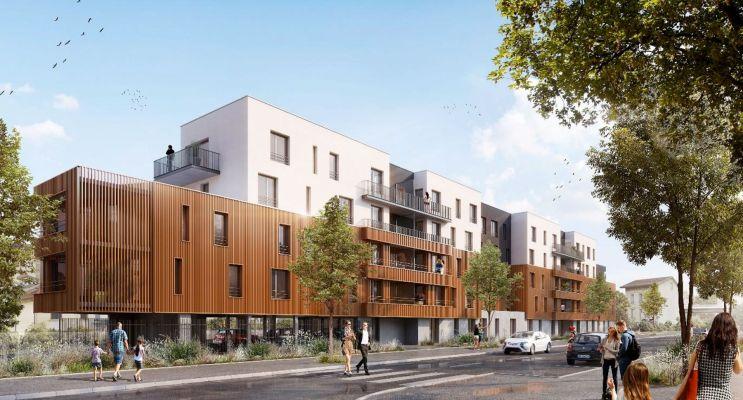 Résidence « Ed'N Green » programme immobilier neuf en Loi Pinel à Nancy