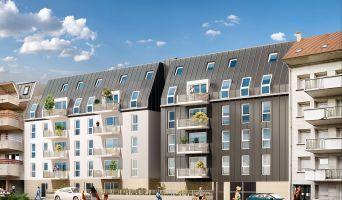 Nancy programme immobilier neuve « L'Ecrin des Jardiniers » en Loi Pinel  (2)