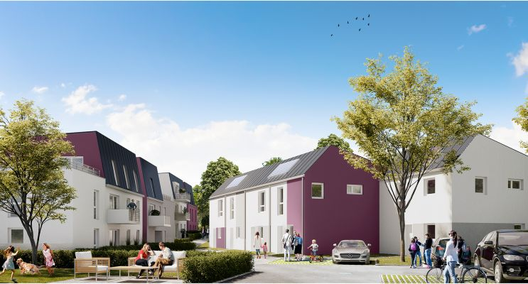 Résidence « L'Ecrin Des Jardiniers » programme immobilier neuf en Loi Pinel à Nancy n°3