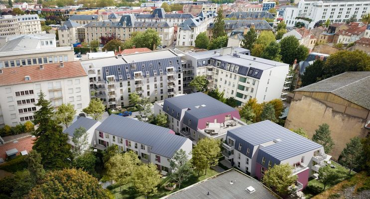Résidence « L'Ecrin Des Jardiniers » programme immobilier neuf en Loi Pinel à Nancy n°5