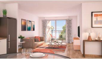 Nancy : programme immobilier neuf « Les Deux Rives 2 » en Loi Pinel