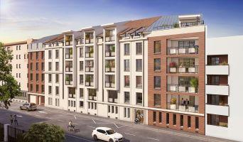 Nancy : programme immobilier neuf « Les Deux Rives » en Loi Pinel