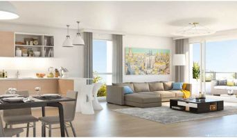 Résidence « Les Jardins Suspendus » programme immobilier neuf en Loi Pinel à Nancy n°3