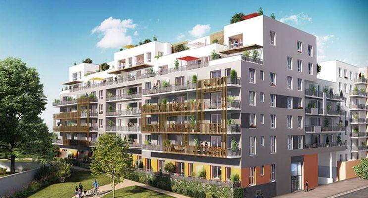 Résidence « Symbio'Z » programme immobilier neuf en Loi Pinel à Nancy n°1