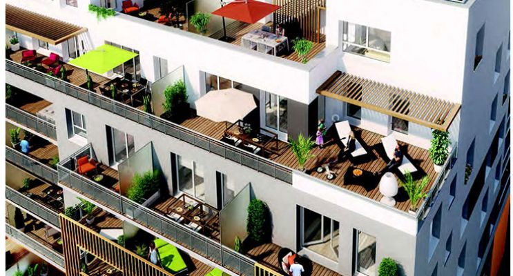 Résidence « Symbio'Z » programme immobilier neuf en Loi Pinel à Nancy n°2