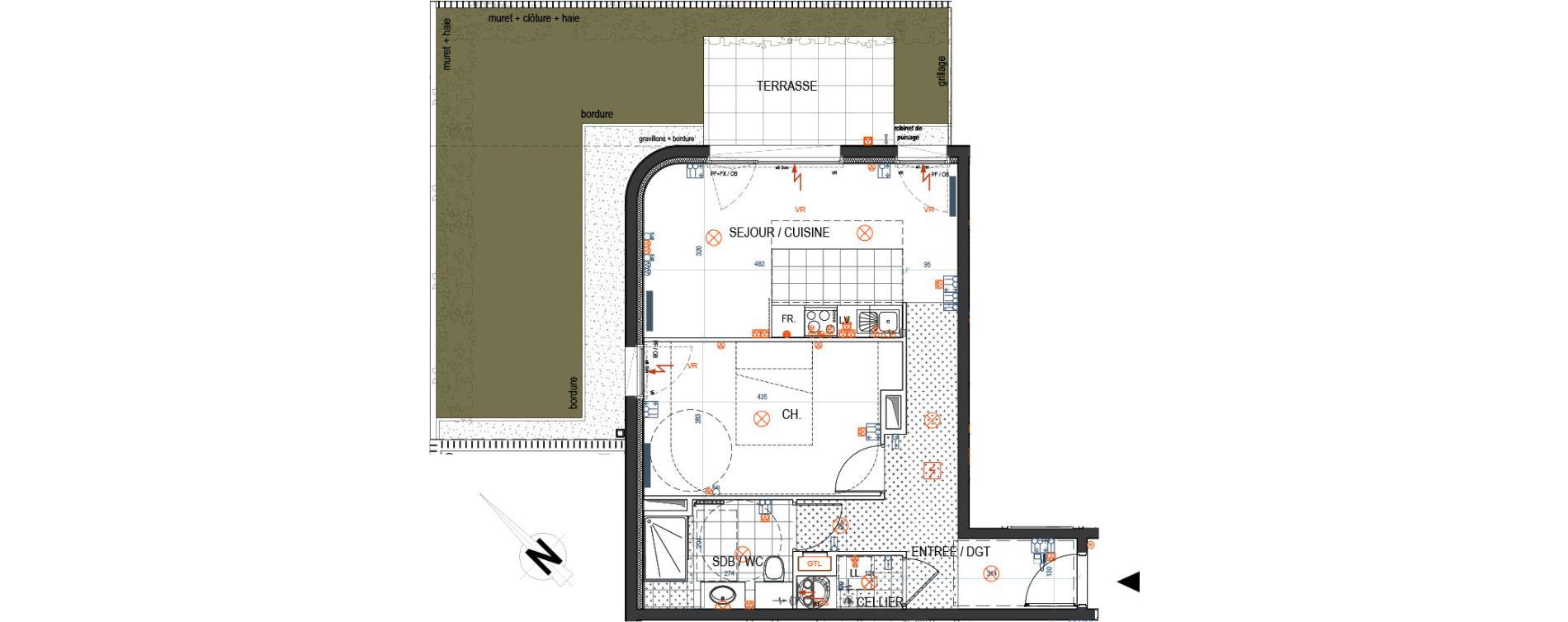 Plan T2 neuf à Saint-Max de