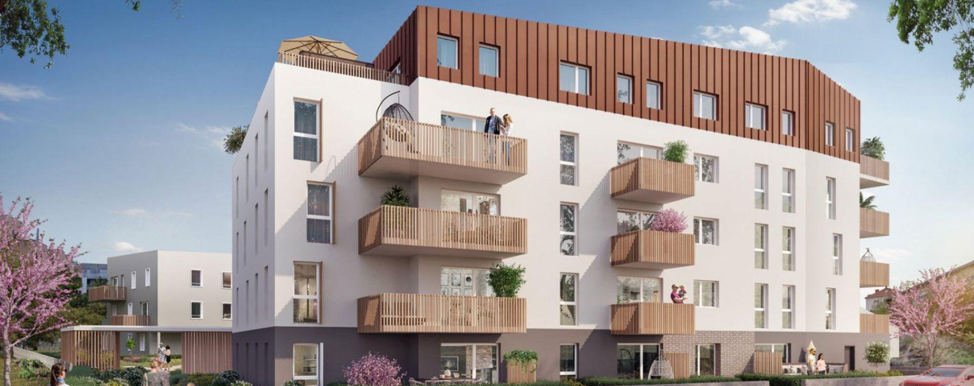 Vandœuvre-lès-Nancy : programme immobilier neuve « Cap Maria » en Loi Pinel