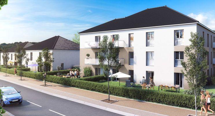 Photo n°1 du Résidence « Les Résidentiales Saint-Benoît » programme immobilier neuf à Guénange