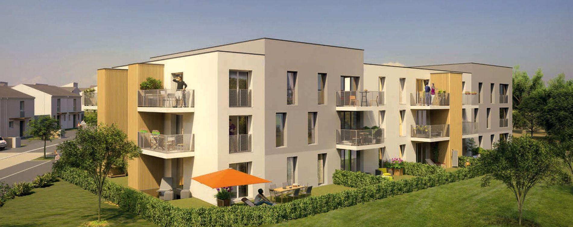 Marly : programme immobilier neuve « Clos des Alizés » en Loi Pinel