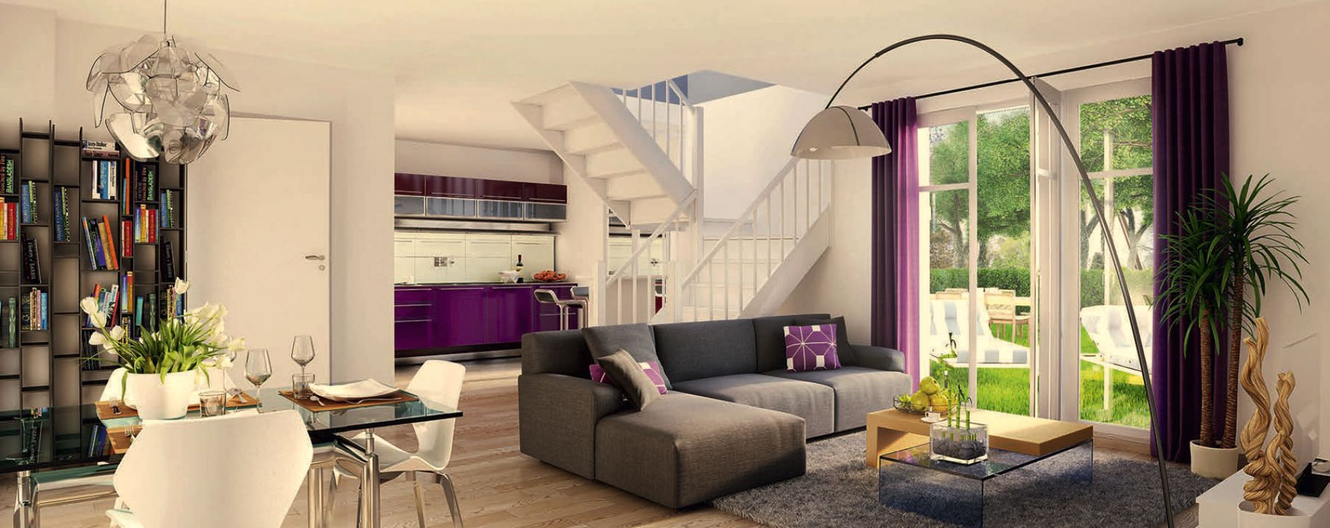 Marly : programme immobilier neuve « Clos des Alizés » en Loi Pinel (3)
