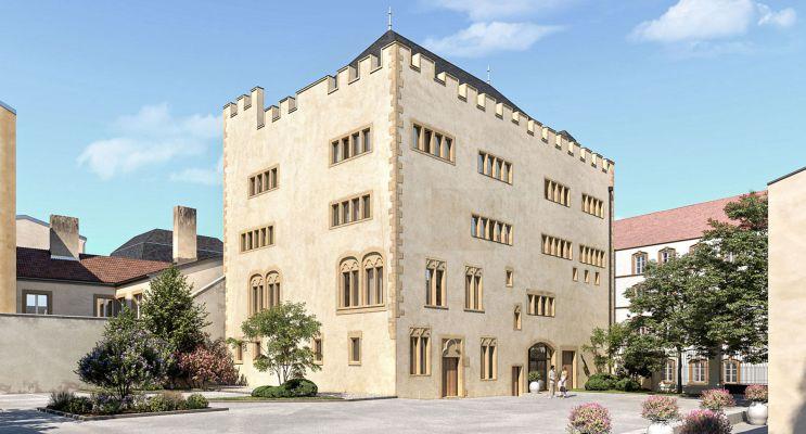 Metz programme immobilier à rénover « Commanderie Saint-Antoine » en Loi Malraux