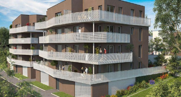 Photo du Résidence « Côté Seille » programme immobilier neuf à Metz