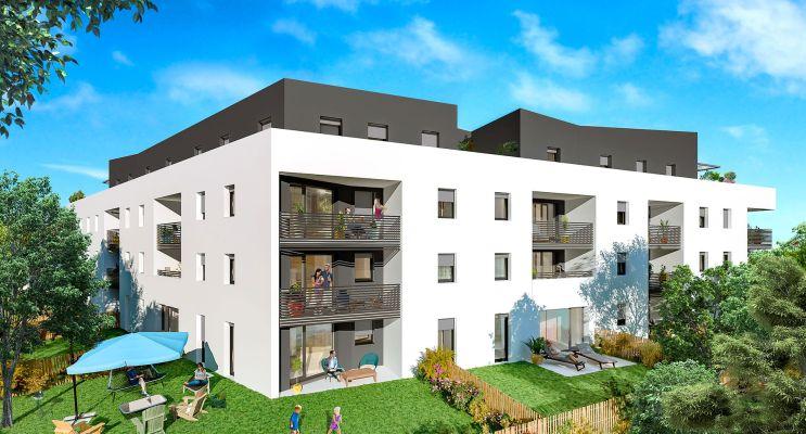 Résidence « Horizon » programme immobilier neuf en Loi Pinel à Metz