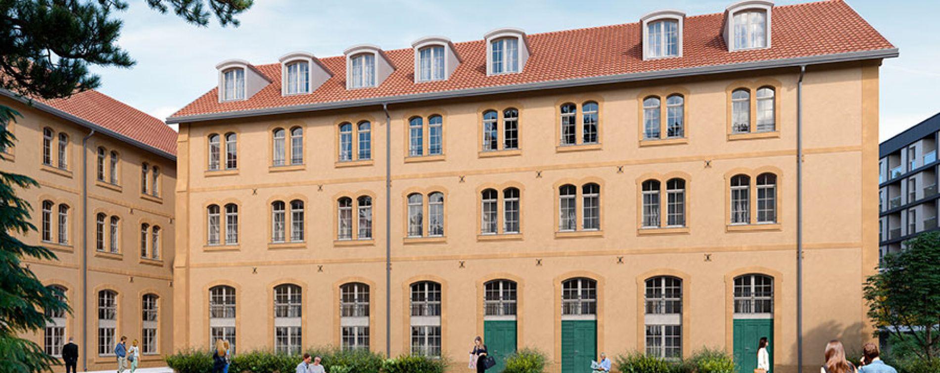 Metz : programme immobilier neuve « La Place de la Manufacture »
