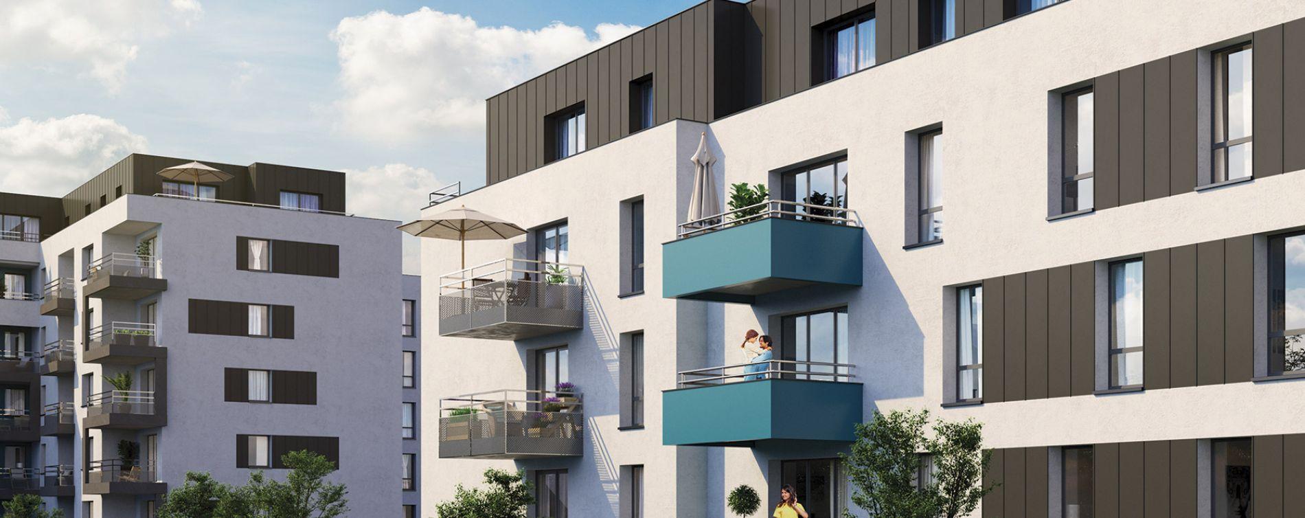 Metz : programme immobilier neuve « L'Olympe » en Loi Pinel