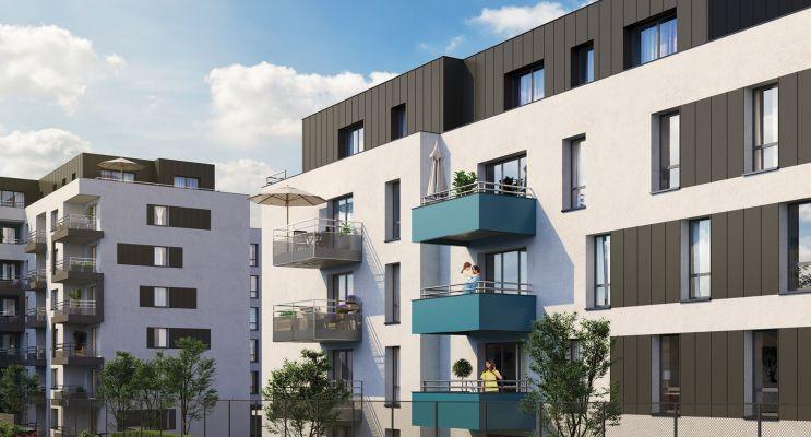 Metz : programme immobilier neuf « L'Olympe » en Loi Pinel