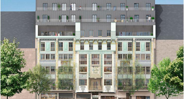 Metz : programme immobilier neuf « Oh Activ - Metz »