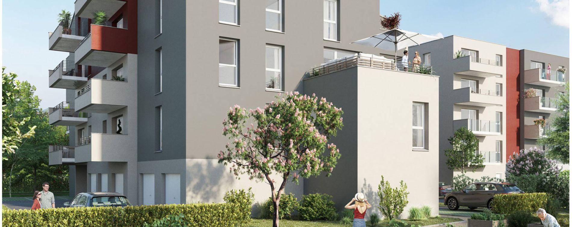Metz : programme immobilier neuve « Plénitude » en Loi Pinel