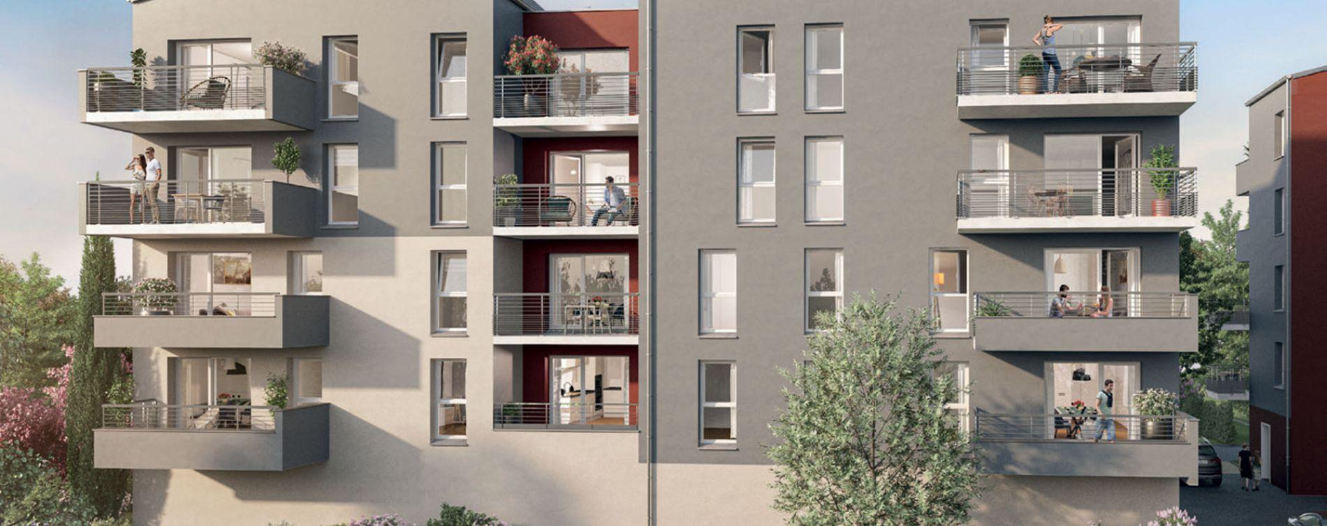 Metz : programme immobilier neuve « Plénitude » en Loi Pinel (2)