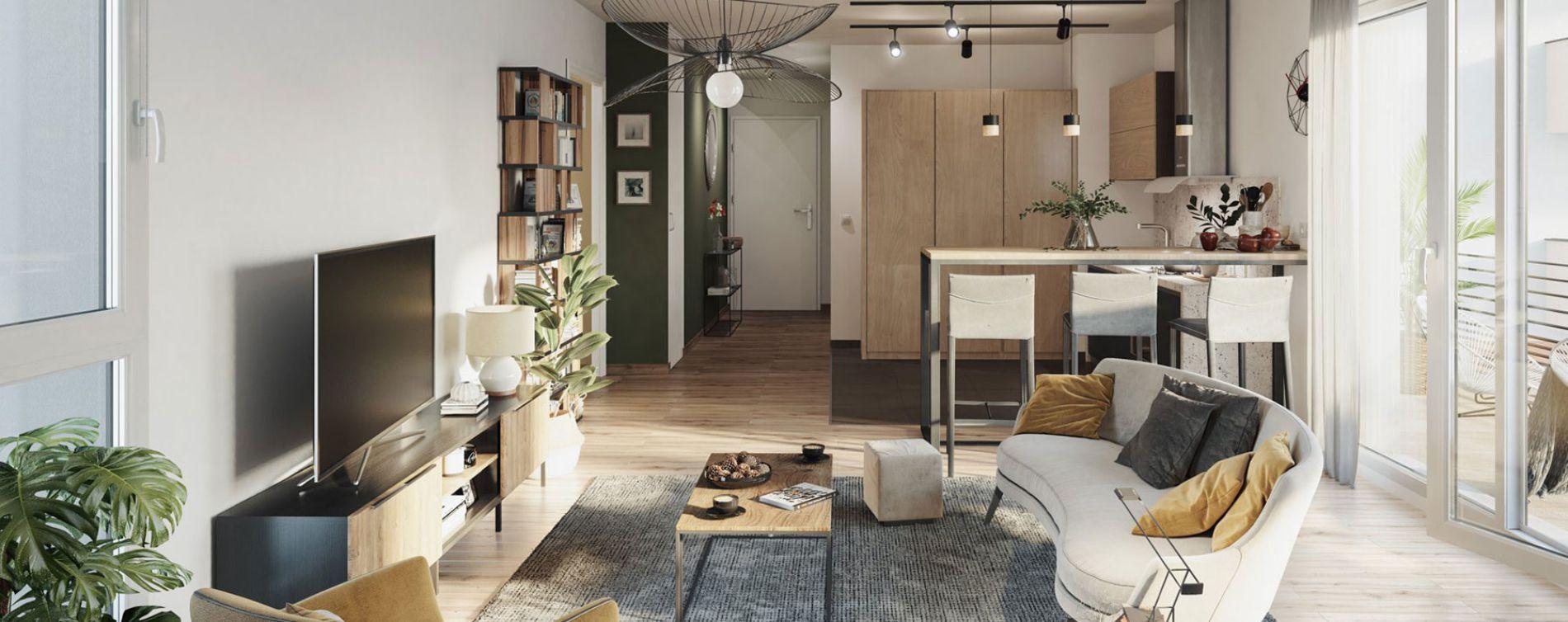 Metz : programme immobilier neuve « Plénitude » en Loi Pinel (3)