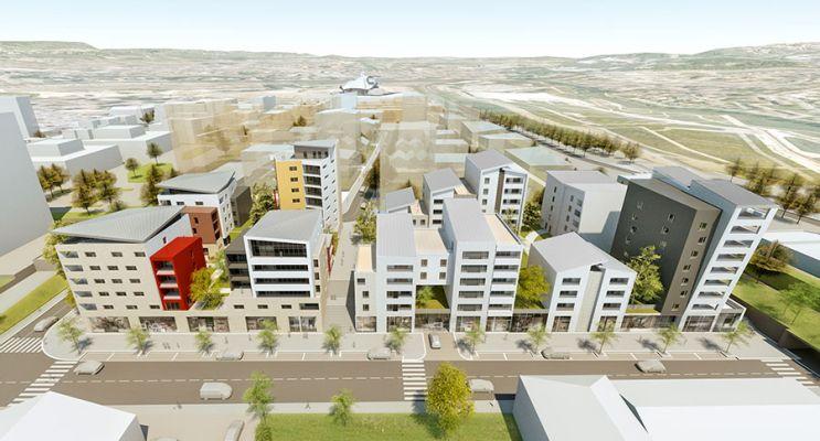 Résidence « Pont De Lumière » programme immobilier neuf en Loi Pinel à Metz n°4