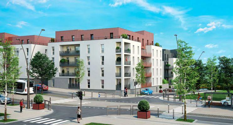 Résidence « Rives De Metz » programme immobilier neuf en Loi Pinel à Metz n°1