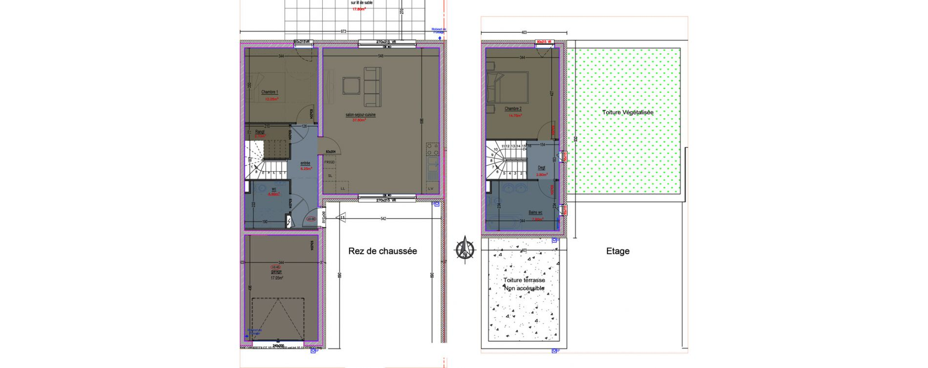 Plan T5 neuf à Metz de