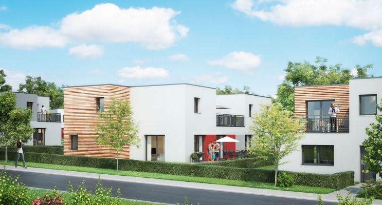 Résidence « Villas Valeria » programme immobilier neuf en Loi Pinel à Metz n°1