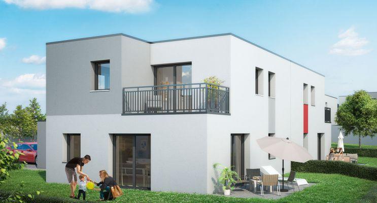 Résidence « Villas Valeria » programme immobilier neuf en Loi Pinel à Metz n°2