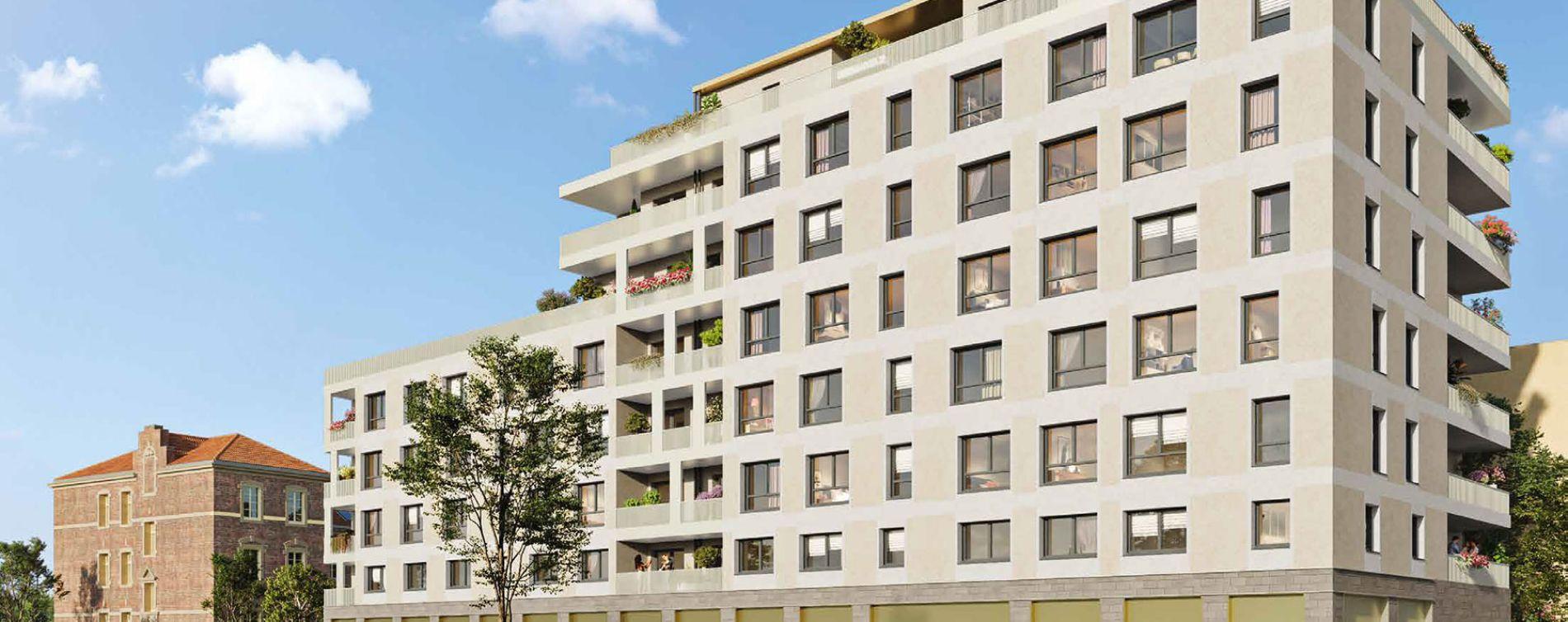 Montigny-lès-Metz : programme immobilier neuve « La K'Zerne » en Loi Pinel
