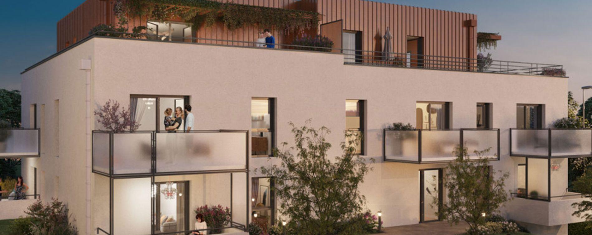 Montigny-lès-Metz : programme immobilier neuve « Quint & Sens » en Loi Pinel
