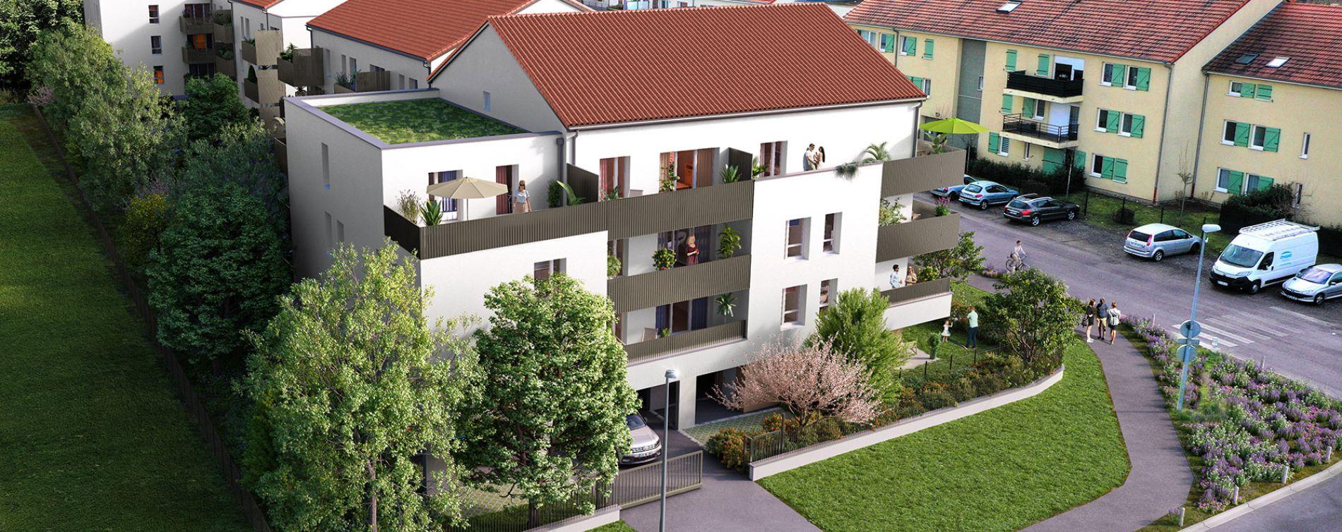 Woippy : programme immobilier neuve « Côté Willage » en Loi Pinel (2)