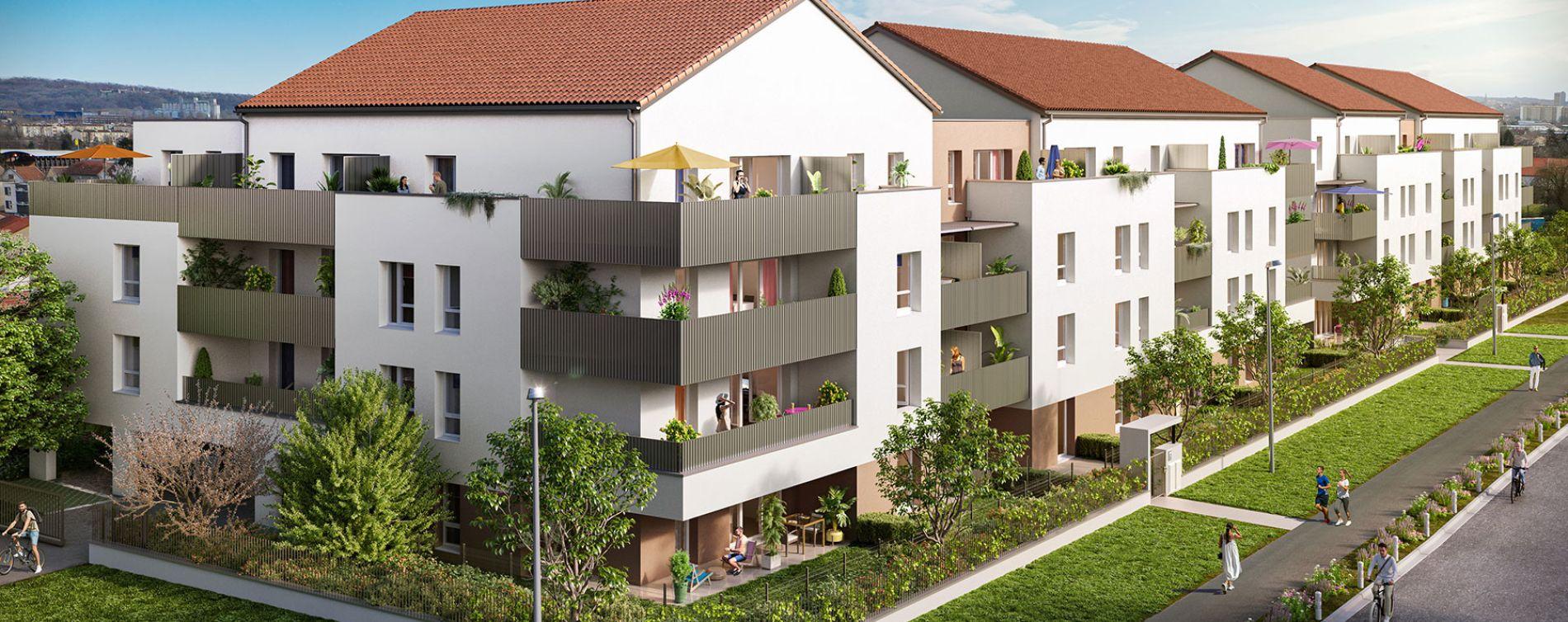 Woippy : programme immobilier neuve « Côté Willage » en Loi Pinel (3)