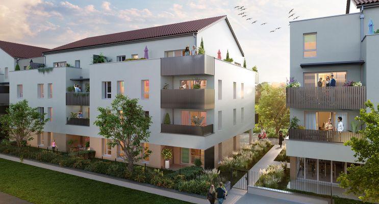 Woippy : programme immobilier neuf « Côté Willage » en Loi Pinel